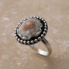 Beautiful Hawaii Shell Ring Sterling Silver Hawaiian Jewelry by Kira Ferrer Handmade Maui, HI