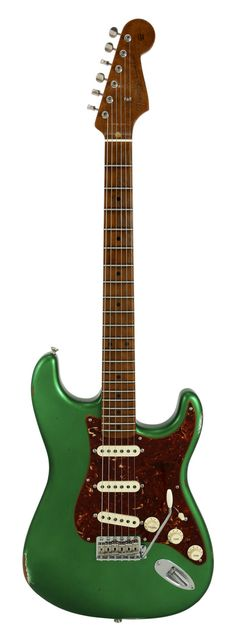 Fender Custom Shop Roasted 1956 Stratocaster Relic Candy Green Metallic