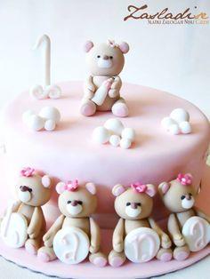 Forever Friends Bears Cake