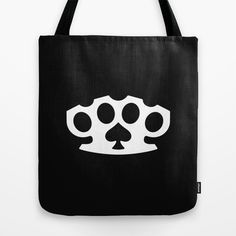 Knuckles Ace of Spades Tote Bag by muchö - $22.00