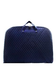 25812022841a Monogrammed Garment Bag Navy Quilted Travel Bag by DoubleBMonograms on Etsy  B Monogram