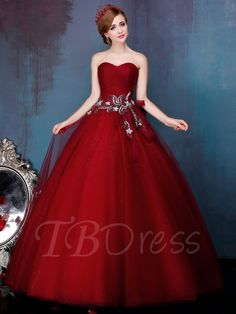 Tbdress.com offers high quality Sweetheart Ball Gown Ruched Bow Beading Pearls Quinceanera Dress Ball Gowns unit price of $ 161.49.