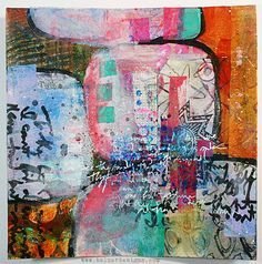 Julie Balzer Mixed Media Collage