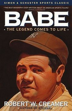 Babe: The Legend Comes to Life by Robert W. Creamer, Dick Schaap Babe Ruth is without a doubt the most famous character ever produced by the sport of baseball. A legendary player, world-famous for his hitting prowess, he transcended the sport to enter the mainstream of American life as an authentic folk hero. - Goodreads