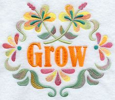 Spring into Color and Grow Circle
