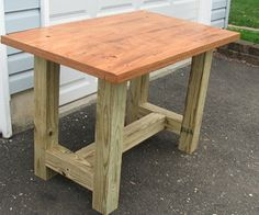 Build a beefy work table for under $50 #furniture #woodworking #workshop