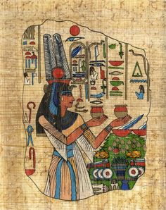 LOTS MORE HERE Artfully Musing: Egyptian Papyrus for Your Art