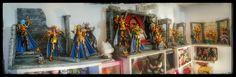 -Diorama saint seiya myth cloth ex -Myth cloth ex -saint seiya  -caballeros del zodiaco -geminis  -pegaso -pandora box -diorama #mythclothex