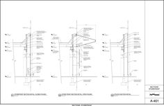 ANDRE KIKOSKI ARCHITECT - Wyckoff Exchange - drawings