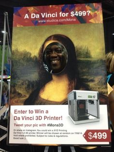 #mona3d #ISTE2014 I want to win a 3D printer @EdcampFlint