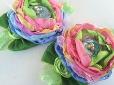 rainbow showers      choice of headband or hair clip by Austenland