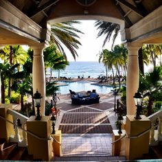 The Curacao Marriott Beach Resort may be one of the best located hotels I've ever been to. Situated on a private beach in Piscadera Bay, the resort feels like the height of secluded and elegant resorts. It's also a short three-mile drive from the capital of Curacao, Willemstad; the free shuttle d...