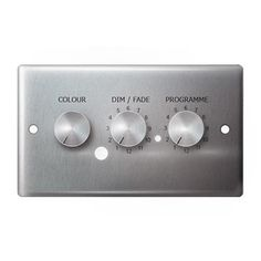 3-in-1 RGBW 4 Channel DMX Wall Plate Controller