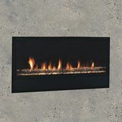 Artisan Vent Free Gas Fireplaces by Monessen Hearth Ventless Fireplace Insert, Vent Free Gas Fireplace, Wood Burning Fireplace Inserts, Linear Fireplace, Fireplace Stores, Fireplace Wall, Gas Fireplaces, Fireplace Ideas, Indoor Fireplaces