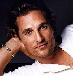 Matthew McConaughey -   (needs no explanation)