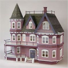 queen anne dollhouse paint colors | Real Good Toys Queen Anne Dollhouse Kits RGT K1085531 | eBay