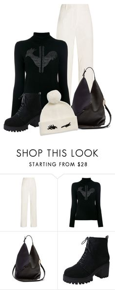 """""""casual (outfit only)"""" by art-gives-me-life ❤ liked on Polyvore featuring Cédric Charlier, Rossignol, Loewe, Kate Spade, contestentry and rockthelook"""