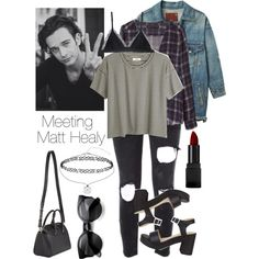 Matt Healy by ingramsage on Polyvore featuring Madewell, Zara, R13, Faith Connexion, Cosabella, Givenchy, Miss Selfridge and Illamasqua