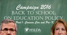 Presidential Candidates go Back to School on Education Policy in New Hampshire | Part 1: #CommonCore and Pre-K