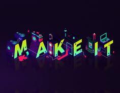 "查看此 @Behance 项目:""Adobe Make It Titles""https://www.behance.net/gallery/36685753/Adobe-Make-It-Titles"