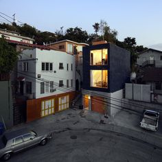 "Crazy skinny house in LA called ""Eels Nest"" done by Anonymous Architects"