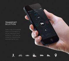Mobile App Design Inspiration – MEETER | Designbeep