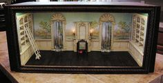The Orleans Study, a 1:12 scale room box by Ken Haseltine  | by Ken Haseltine Regent Miniatures