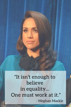 Will Meghan Markle Change Princess Culture? Feminist Men, Media Literacy, Intersectional Feminism, Empowering Quotes, Badass Women, New Parents, Love People, Meghan Markle, Toys For Girls