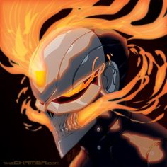 Ghost Rider + time lapse video link by theCHAMBA on DeviantArt
