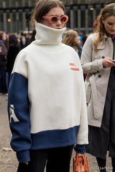 Street Style Topshop Unique London Fashion Week AW17
