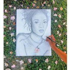 Rihanna art fashiondrawing