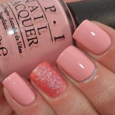OPI- Pink Friday and NOPI- Candy is Dandy from the Gumdrops collection