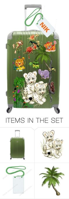 """The suitcase for children"" by m-kints ❤ liked on Polyvore featuring art and decorative"