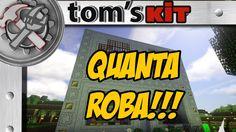 Minecraft ITA : QUANTA ROBA !!! - Tom's Kit #02
