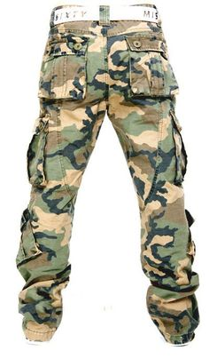 Cargo Military Pant (Back)