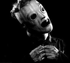 Cory Taylor of Slipknot.