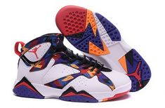 """3619533dbe4 Discover the 2016 Girls Air Jordan 7 """"Nothing But Net"""" White/University  Red-Black-Bright Concord Top Deals collection at Pumaslides."""