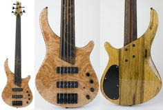 "Wow...check out this killer Gecko fretless 5-string bass built by ""danp"".  Lots more pics on the Unofficial Warmoth forum: http://buff.ly/1smlQu3  More info on Gecko 5 strings: http://buff.ly/1smlSSQ"