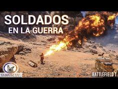 Battlefield 1 Beta Los Soldados en la guerra. Mini Película con Cinemati...