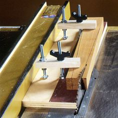 Tablesaw jigs