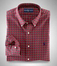 Polo Ralph Lauren   Men's dress shirt plaid   Dillards.com