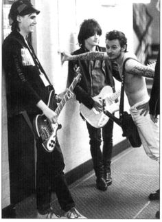 Nicky Wire Richey Edward + James Dean Bradfield of MSP