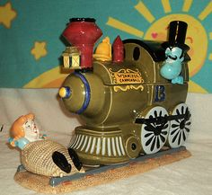 SNIDELY WHIPLASH & NELL COOKIE JARS