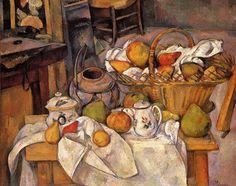 Paul Cezanne – The Kitchen Table (circa 1880 – 90)