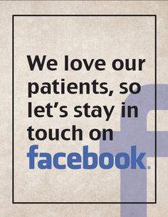 Feel free to stay in touch guys! Dental Health Month, Dental Life, Dental Humor, Dental Insurance, Dental Office Design, Facebook Business, Dental Assistant, Business Pages, Dental Implants