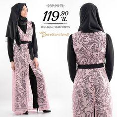 Nayla Collection - Pudra / Siyah Tulum Sipariş Vermek İçin Whatsapp: 90 507 651 3656 Beden: 38-52 arası Ürün kodu: 52407-01PDS http://ift.tt/1t9jj4V  #hijab #fashion #tesetturgiyim #tesetturisland #tesetturmodası by tesetturisland