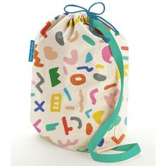 Imaginative Bedding for kids. Playground print collection. All styles wrapped in these cute re usable stuff bags.