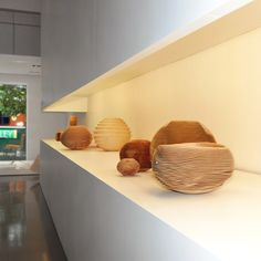 Rillen Vessels by Christoph Finkel at Luminaire Lab