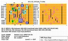 Guitar FX Layouts: VFE Pedals Fuzz Duo