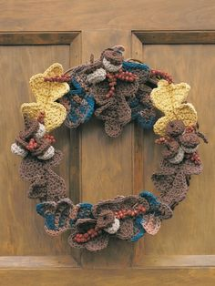 Autumn Harvest   Yarn   Free Knitting Patterns   Crochet Patterns   Yarnspirations
